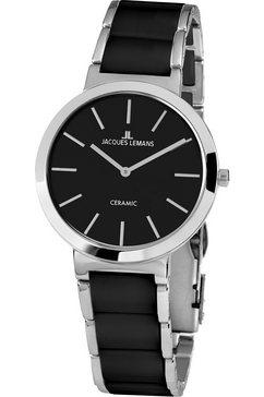 jacques lemans keramisch horloge »milano, 1-1999a« zwart