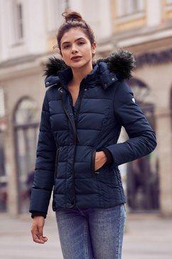alpenblitz gewatteerde jas »helsinki« blauw