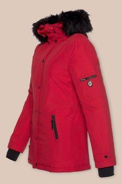 alpenblitz winterjack »moskau« rood