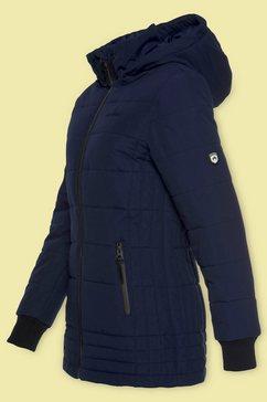 alpenblitz gewatteerde jas »flockenwirbel« blauw