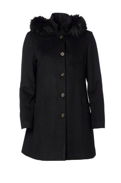 swept by danwear coat zwart