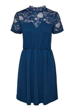 only kanten jurk »mona« blauw
