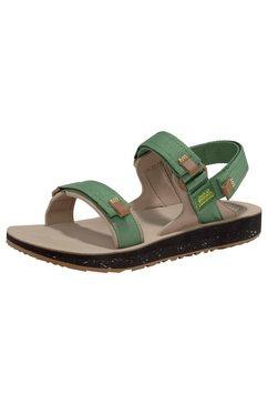 jack wolfskin outdoorsandalen »outfresh deluxe sandal m« groen