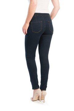 stooker women slim fit jeans blauw