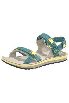 jack wolfskin outdoorsandalen »outfresh deluxe sandal w« blauw