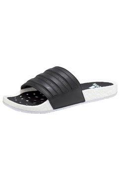 adidas badslippers »adilette boost« zwart