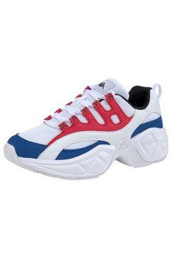 kappa sneakers »overton« wit
