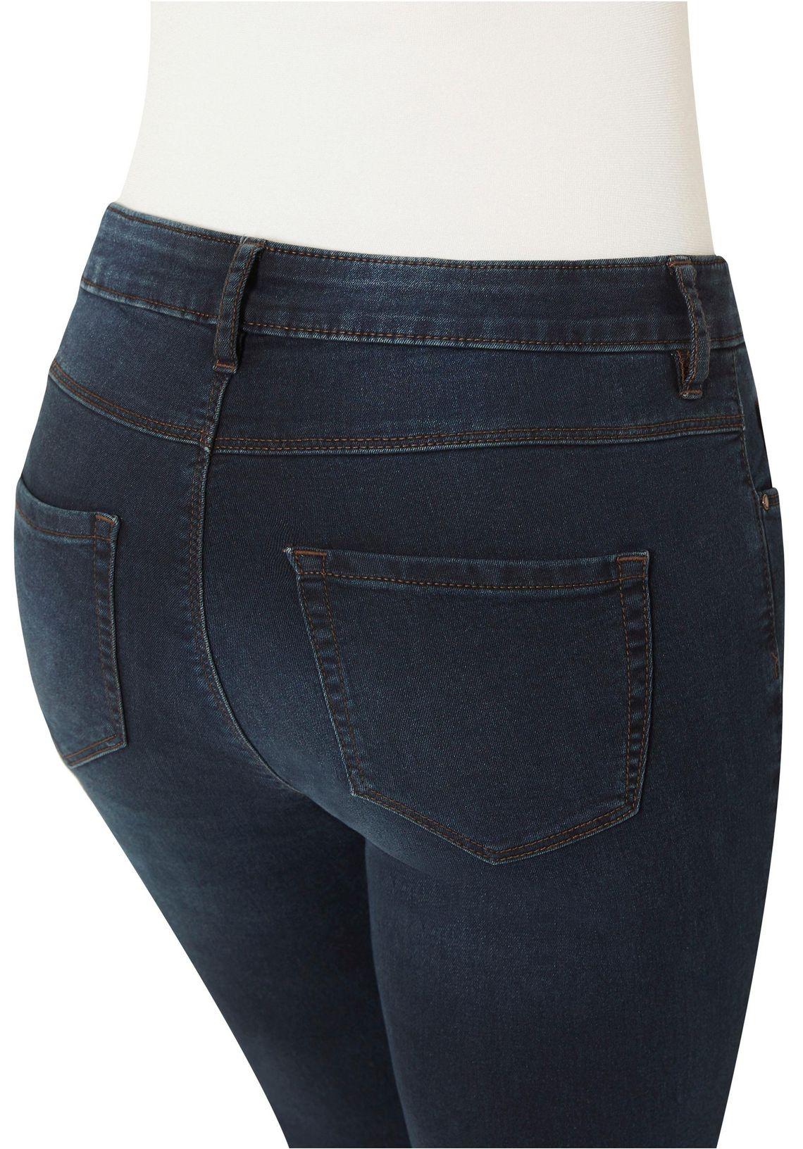 Stooker Women Slim Fit Jeans Online Verkrijgbaar Blue-black-denim 0pwn5l5D
