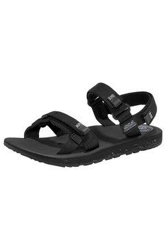jack wolfskin outdoorsandalen »outfresh sandal w« zwart