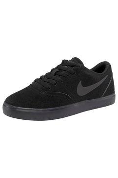 nike sb sneakers »check suede skate« zwart