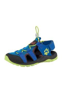 jack wolfskin outdoorsandalen »outdoor action sandal k« blauw
