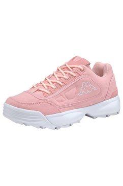 kappa sneakers »rave sun« roze
