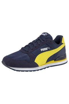 puma sneakers »st runner v2 mesh jr« blauw