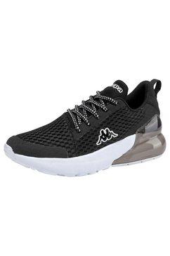 kappa sneakers »colp« zwart
