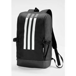 adidas performance »3 stripes rspns backpack« sportrugzak zwart