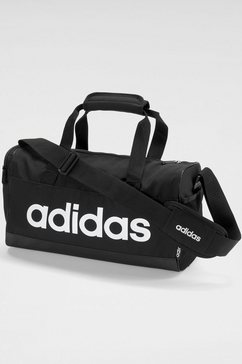adidas sporttas »linear duffle xs« zwart