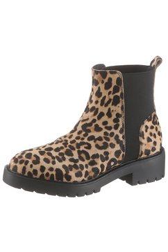 steve madden chelsea-boots »gliding« bruin