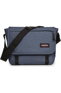 eastpak messengerbag »delegate + crafty jeans« blauw