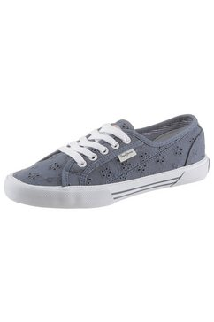 pepe jeans sneakers »aberlady angy-20« blauw