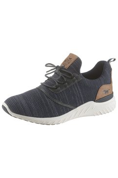 mustang shoes slip-on sneakers blauw