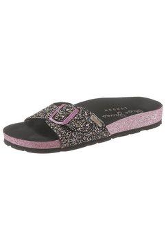 pepe jeans slippers »oban fun« zwart