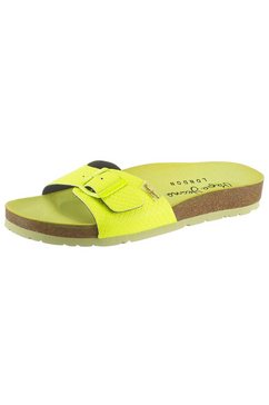 pepe jeans slippers »oban surf« geel