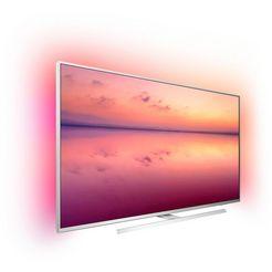 philips 50pus6804 led-tv (126 cm - 50 inch), 4k ultra hd, smart-tv zilver