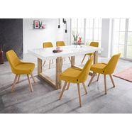 inosign stoel dilla (set, 1 stuk) geel