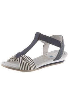 s.oliver sandalen blauw