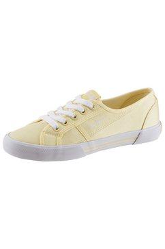 pepe jeans sneakers »aberlady eco« geel