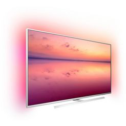 philips 55pus6804 led-tv (139 cm - 55 inch), 4k ultra hd, smart-tv zilver