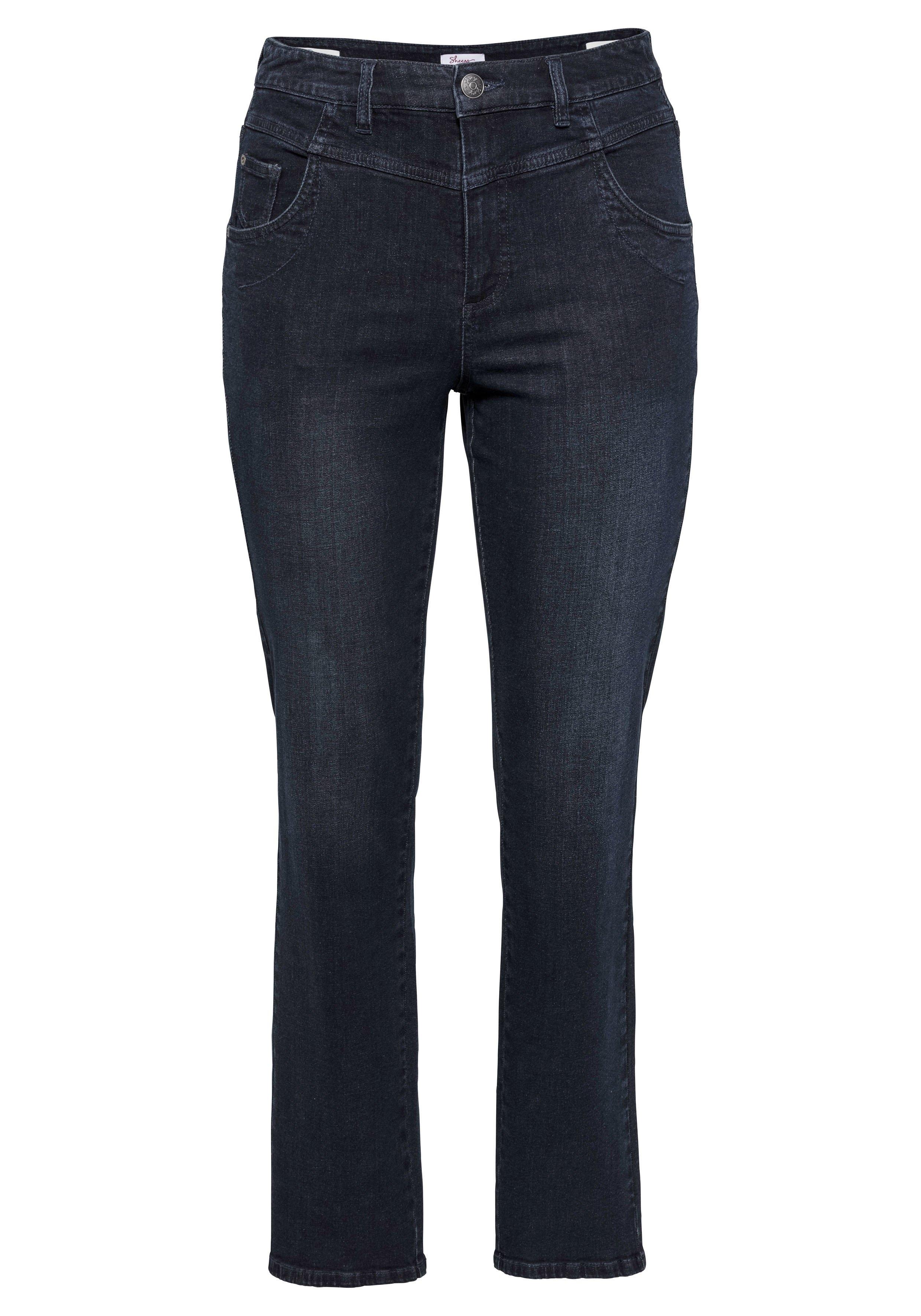 Sheego rechte jeans - gratis ruilen op otto.nl
