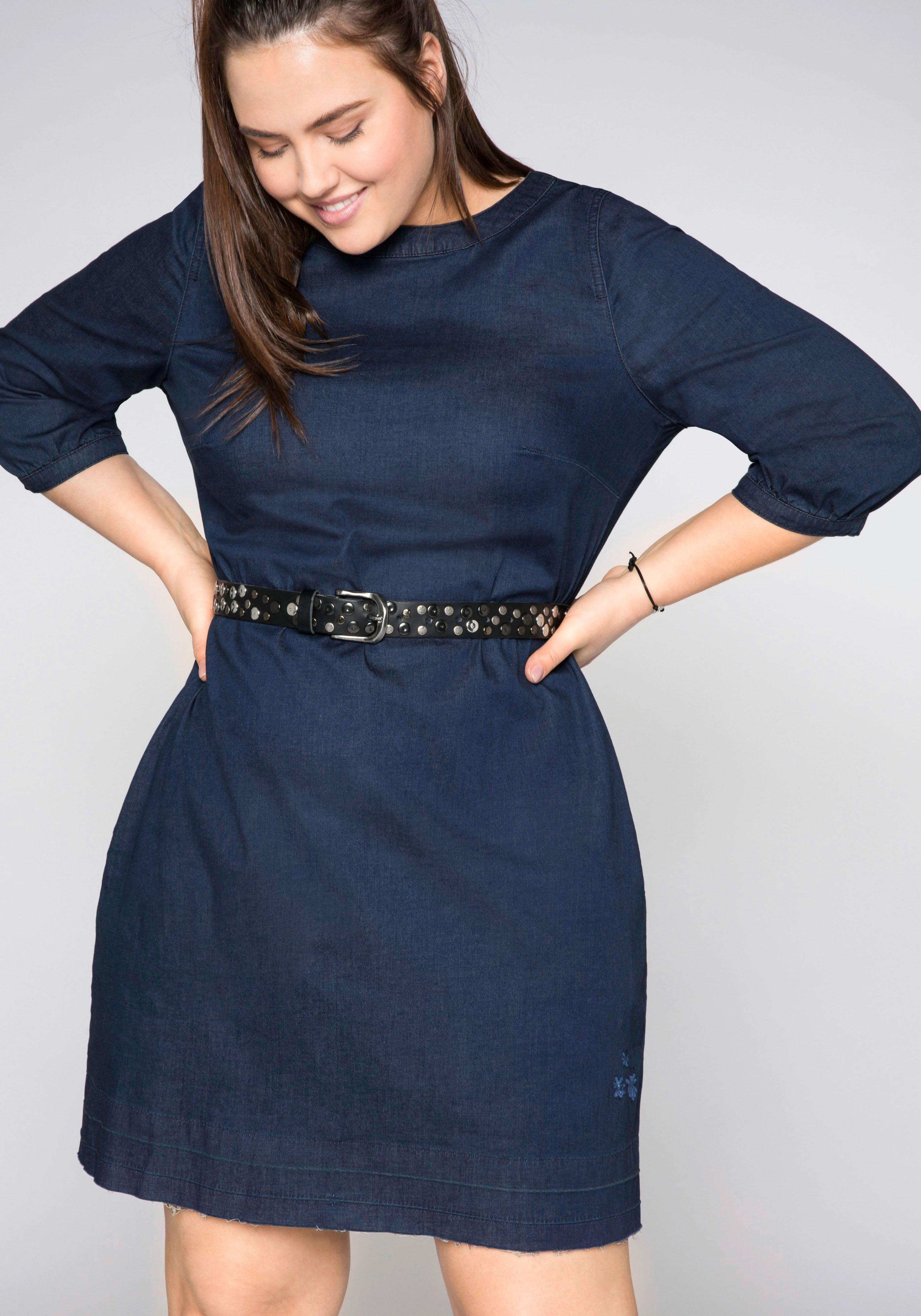 Sheego jeansjurk nu online kopen bij OTTO
