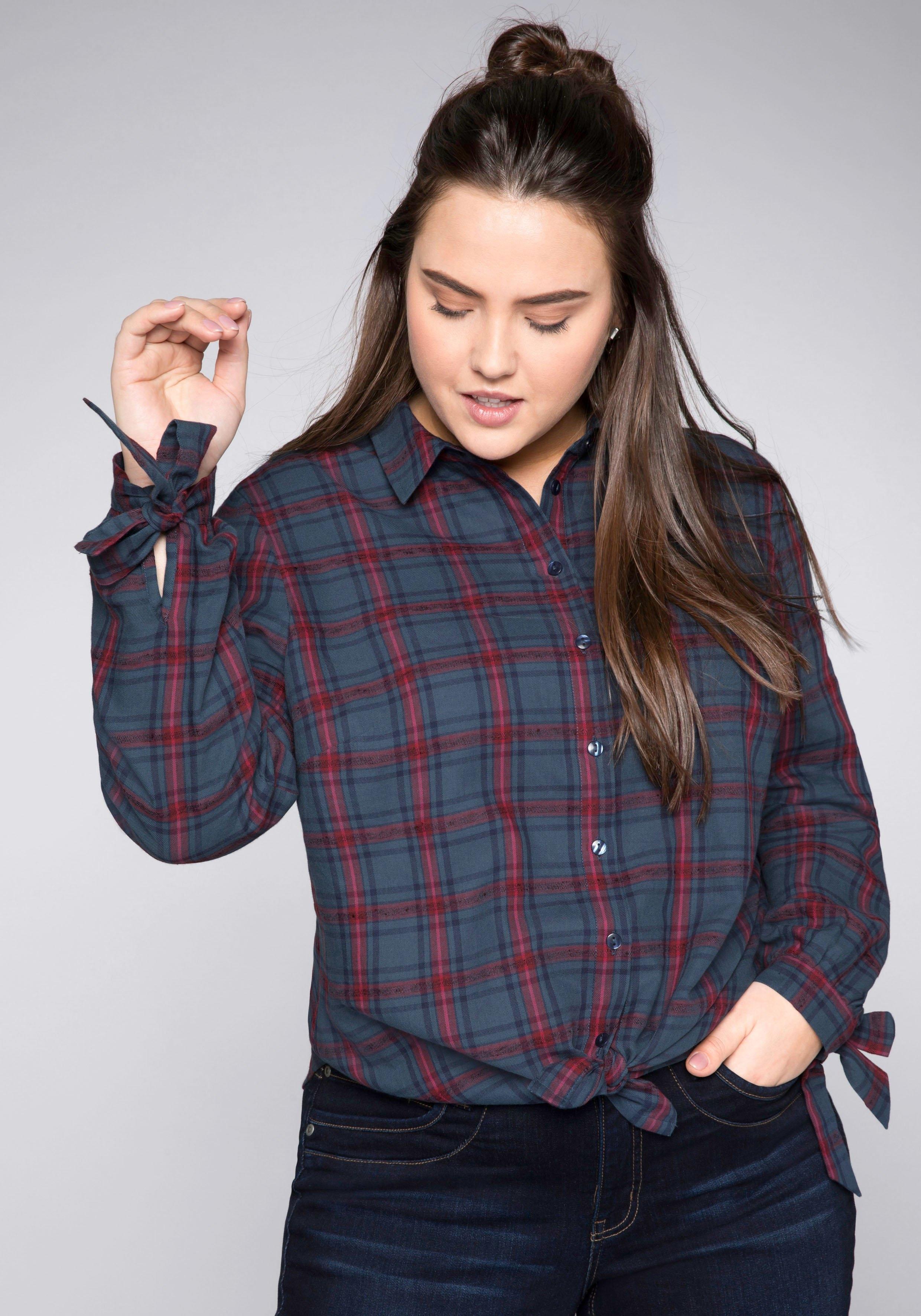 Op zoek naar een Sheego geruite blouse? Koop online bij OTTO