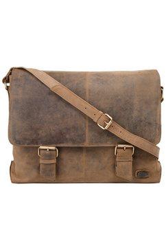 harold's messengerbag »antik« bruin