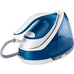 philips »gc7929-20 perfect care compact plus, blau« stoomstrijksysteem blauw