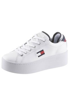 tommy jeans plateausneakers »roxie 21a« wit