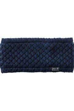 jack wolfskin haarband »highloft knit headband women« blauw