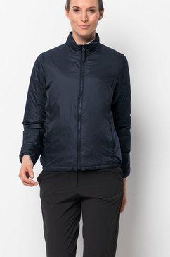 jack wolfskin outdoorjack jwp thermic one jacket w blauw