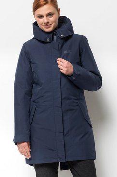 jack wolfskin functionele 3-in-1-jas »monterey bay coat« blauw