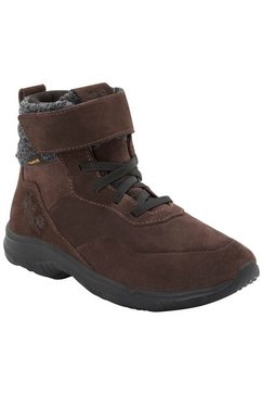 jack wolfskin outdoorschoenen »city bug texapore mid k« bruin