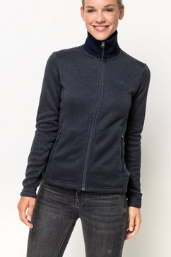 jack wolfskin fleecejack »scandic jacket women« blauw