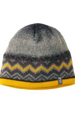 jack wolfskin gebreide muts »colorfloat knit cap kids« grijs