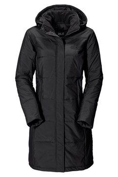 jack wolfskin wintermantel »iceguard coat« zwart
