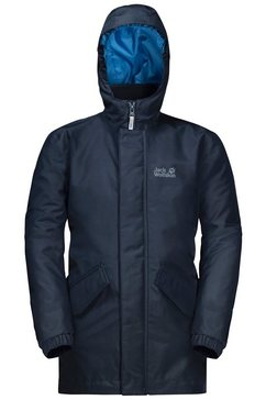 jack wolfskin functioneel 3-in-1-jack »ice cave 3in1 jacket boys« blauw