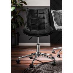 """bureaustoel """"luke"""" zwart"""