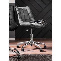 "bureaustoel ""luke"" grijs"