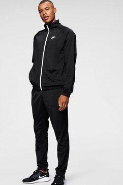 nike sportswear trainingspak »m nsw ce trk suit pk« (2-delige set) zwart