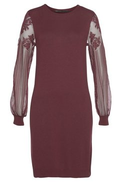 only kanten jurk »viktoria« rood
