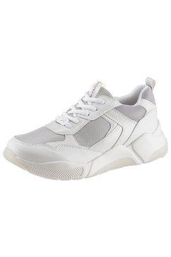 tom tailor sneakers met sleehak wit